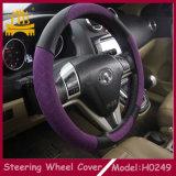 Seis colores decorativos convenientes para toda la cubierta del volante del coche de la gente PU+Cloth