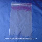 2017 saco de plástico autoadesivo do espaço livre OPP da alta qualidade por atacado