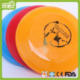 Brinquedos coloridos do cão do Frisbee do gel de silicone (HN-PT405)