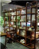 完全なクルミ木製のBookcase&Shelf (BS007)
