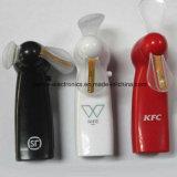 Fördernder Mini-LED Blinkenventilator mit Firmenzeichen gedruckt (3509)