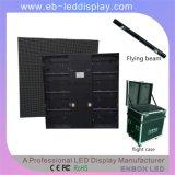 A todo color ultra fino delgado de aluminio Gabinete P7.62 Alquiler cubierta LED Panel con un peso ligero