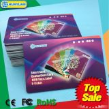 Die Cut Kunststoff-Visitenkarten Hersteller Preis