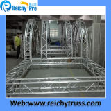 Truss curvo Sound Truss con Roof per Outdoor Performance