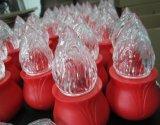 Luz conmemorativa de la vela del plástico LED del precio de fábrica (GE-NEF)