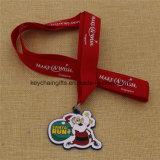 Медали рождества выдвиженческих подарков изготовленный на заказ для сбывания
