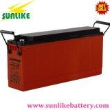 bateria Telecom terminal dianteira recarregável do armazenamento 12V150ah para a potência solar