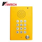 Teléfono Knzd-29 del borde de la carretera del teléfono Emergency del recinto limpio de Koontech