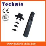 detetor vivo ótico Tw3306e da fibra 800-1700nm com adaptador diferente