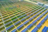 Sistema di inseguimento orizzontale piantato di Sun di Singolo-Asse del mucchio/inseguitore solare