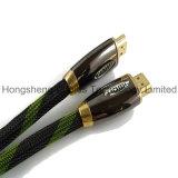 Kabel der Metallnylonnettoflechten-HDMI a bis a