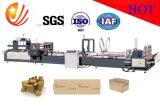 Dépliant ondulé automatique Gluer de carton et machine à emballer (JHXDB-2000)