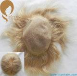 Merletto ed unità di elaborazione intorno al rimontaggio dei capelli umani per l'uomo