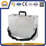 Preto/caixa de ferramentas impermeável tática dura da maleta ferramentas da prata com a cintura da espuma e de ombro (HT-1115)