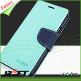 Voller Cover PU-Handy Leather Fall für Samsung S6