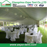 Full Decorations를 가진 큰 Span White Outdoor Wedding Party Tent