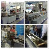 Réutilisation du plastique pelletisant pour la machine d'extrudeuse