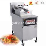 Équipement de Kfc de machine de friteuse de gaz de friteuse de pression utilisé par penny de Henny sur le marché