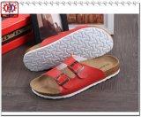 La mayoría de las sandalias de diapositiva de la manera Nuevo estilo para hombre PU