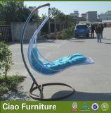 Hamaca, silla colgante, oscilaciones al aire libre del jardín