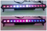 Quadrilátero do IP 65 14X 10W em 1 arruela da parede do diodo emissor de luz da iluminação da arruela da parede do diodo emissor de luz DMX