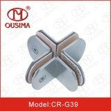 Круглая форма штуцер оборудования нержавеющей стали 360 градусов стеклянный (CR-G37)