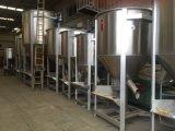 Proceso PP PE plástico Materia prima de fabricación de la máquina del mezclador