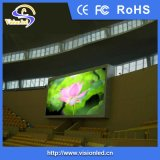 工場価格のフルカラーの屋内LED表示掲示板の鉄のキャビネットP6