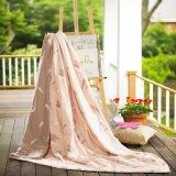 Cobertor 100% da seda de Mulberry de Oeko Tex-100 de linho de base do verão