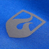 Logoのメンズ1/2 Zip Polyester Spandex Sports Top