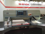 Гидровлический бумажный автомат для резки (SQZ-115CTN KD)
