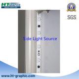 Caixa leve do diodo emissor de luz da posição de alumínio do retângulo para anunciar
