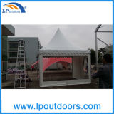 4X4m Transparent Sidewall Pagoda Gazebo Wedding Party Tent
