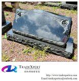 Headstone inclinato granito di pietra naturale G654 per i prodotti funerei