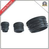 PET schwarze runde Plastikschutzkappen für Stuhl-Beine (YZF-C308)