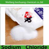 Sal comestible del cloruro de sodio de la fuente