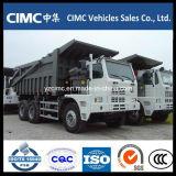 HOWO 6X4 420HP 70t鉱山のダンプトラック