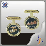 Moneta americana del capo del blu marino dell'aquila