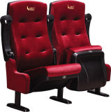 Горячее Sell Fixed Flat Iron Movie Chair, с Cup Holder Cinema Chair