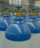 Cilindro de gás da exportação do cilindro de gás GB5099/ISO9809 do oxigênio 40L 150bar-China