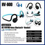 2016 Higi venta caliente HV-600 CSR4.0 Deportes auricular estéreo inalámbrico Bluetooth con reproductor de MP3