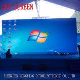 3 anni della garanzia di colore completo P7.62 di LED di schermo dell'interno della visualizzazione LED