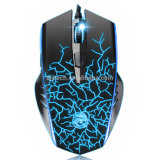 6 Tasten 2400 Dpi Adjustable Optical USB Wired Gaming Mouse mit 6 Colors Breathing LED