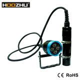 4000 루멘을%s 가진 Hoozhu Hu33 양철통 LED 잠수 토치는 잠수부를 위해 120m를 방수 처리한다