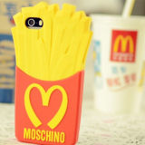 iPhoneのための製造3D Cute Cartoon Silicon Cellphone Cover 6 6p