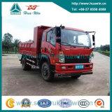 Cdw 4X2 170HP Dump Truck Loading Capacity 10 Ton