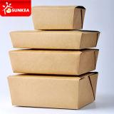 Quitar los paquetes de papel del alimento