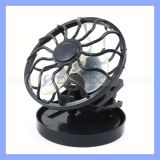 Solar nero Cell Fan Sun Power Energy Panel Clip-su Cooling Hat Cooler Fan per Camping Hiking
