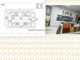Kabinetten kc-070 van het Eiland van de Keuken van de Keuken van Guanjia MDF Gelamineerde