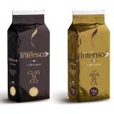 Glatte Folien-Kaffee-Beutel mit Ventil-und Zinn-Gleichheit, Kaffee-Beutel mit Entwurf